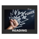 The Power of Reading Literacy Poster