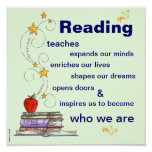The Power of Reading Poster