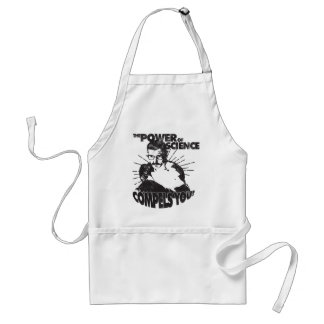 The Power of Science Compels You! Adult Apron