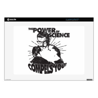 The Power of Science Compels You! Decal For Laptop