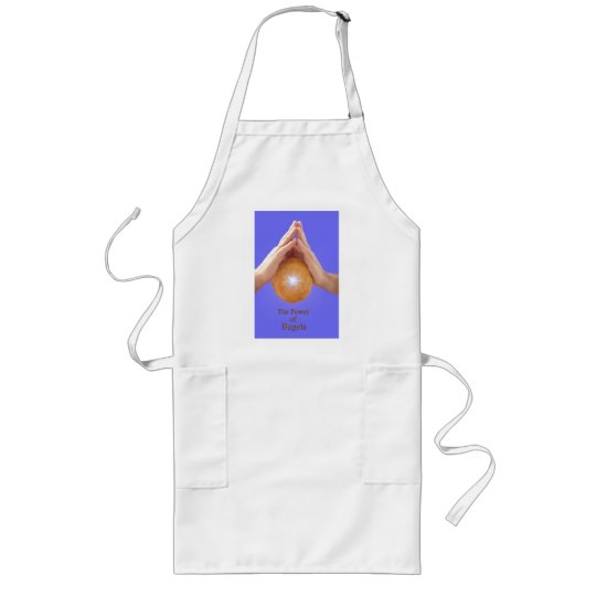 The Power of the Bagel Long Apron
