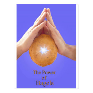 The Power of the Bagel Postcard