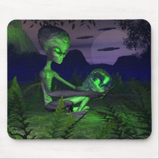 The Power Of The Skull Mouse Pad
