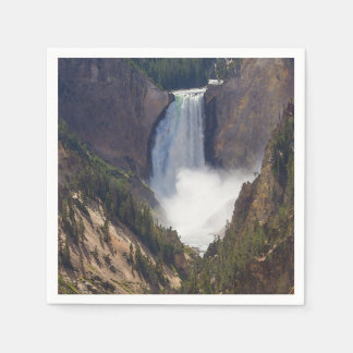 The Power Of Yellowstone Paper Napkin
