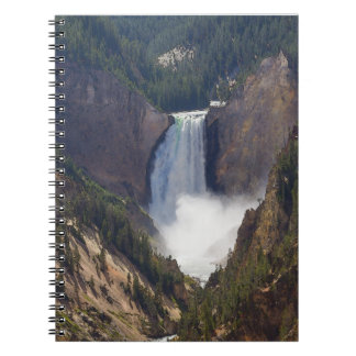 The Power Of Yellowstone Spiral Notebook