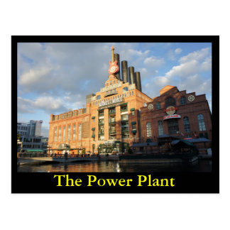 The Power Plant Postcard