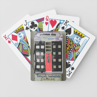 The Power Vendor ... Phone Charge Vending Machine Bicycle Playing Cards