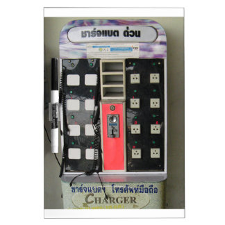 The Power Vendor ... Phone Charge Vending Machine Dry Erase Board