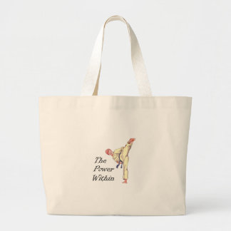 THE POWER WITHIN TOTE BAGS