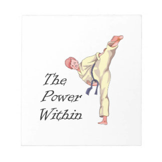 THE POWER WITHIN MEMO NOTEPADS