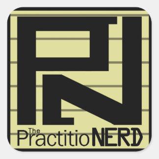 """The PractitioNERD """"Original"""" Sticker (3"""" x 3"""")"""