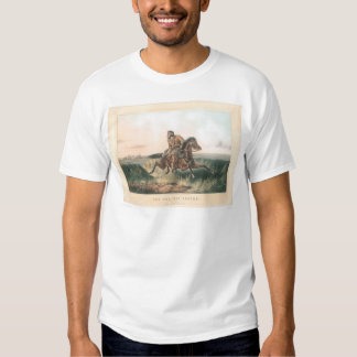 """The Prairie Hunter: """"One Rubbed Out!"""" (1364A) T Shirt"""