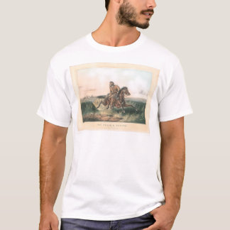 """The Prairie Hunter: """"One Rubbed Out!"""" (1364A) T-Shirt"""