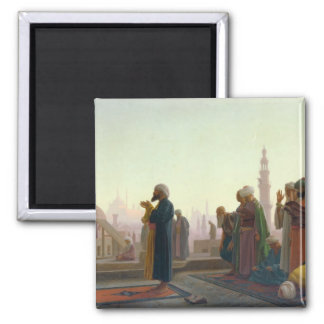 The Prayer, 1865 2 Inch Square Magnet