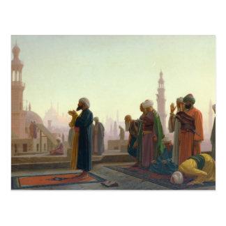The Prayer, 1865 Postcard