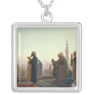 The Prayer, 1865 Silver Plated Necklace