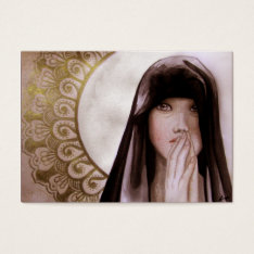 The Prayer Business Card at Zazzle