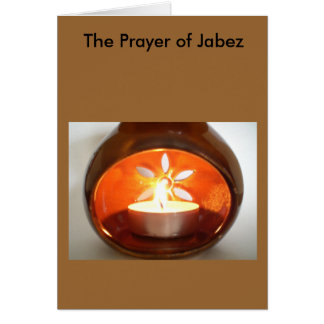 The Prayer of Jabez Greeting Cards