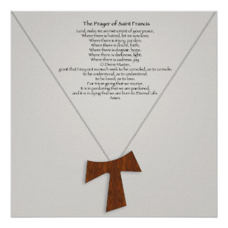 The Prayer of Saint Francis Poster
