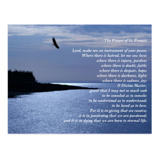 The Prayer of St. Francis Postcard