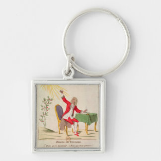 The Prayer of Voltaire Keychain