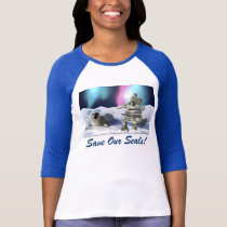 """""""THE PRAYER ~ Save Our Seals!"""" Tops & Tees"""