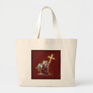 The Praying Angels. Tote Bags