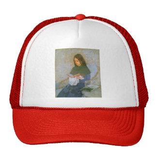 The Precious Book by Gwen John Trucker Hat