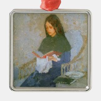 The Precious Book by Gwen John Christmas Tree Ornament