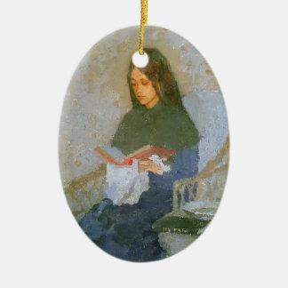 The Precious Book by Gwen John Christmas Tree Ornaments