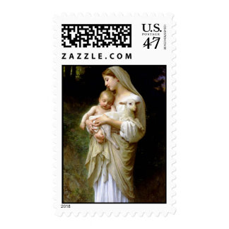The Precious Lamb of God Postage