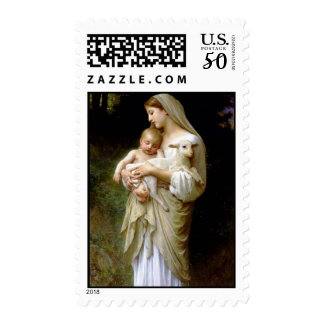The Precious Lamb of God Postage