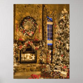 The Presence of Christmas Joy Poster