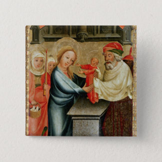 The Presentation of Christ in the Temple Button