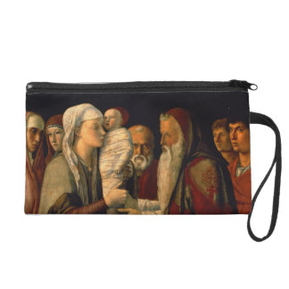 The Presentation of Jesus in the Temple Wristlet Clutches
