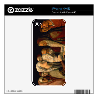 The Presentation of Jesus in the Temple iPhone 4 Skins