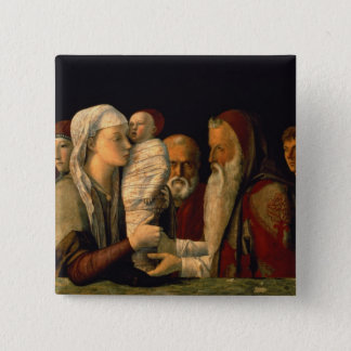 The Presentation of Jesus in the Temple Pinback Button
