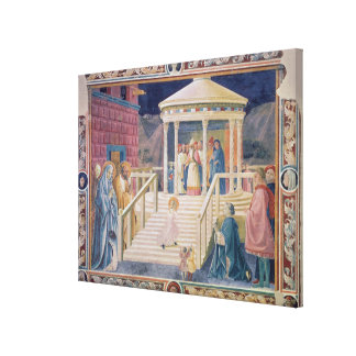 The Presentation of the Blessed Virgin Mary Canvas Print
