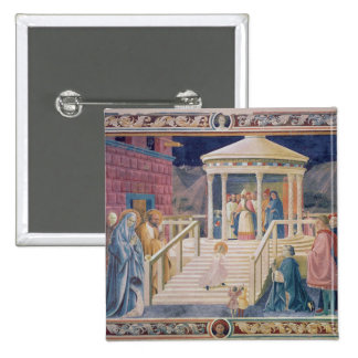 The Presentation of the Blessed Virgin Mary Pinback Button