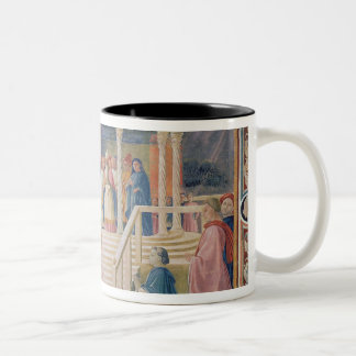 The Presentation of the Blessed Virgin Mary Two-Tone Coffee Mug