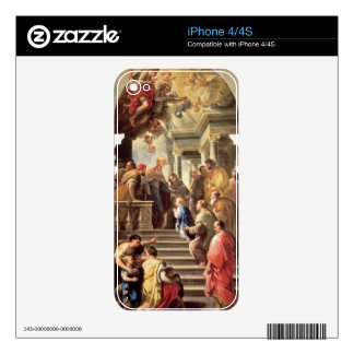 The Presentation of the Virgin at the Temple (oil Skins For The iPhone 4S