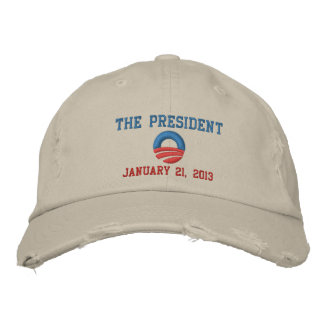 The President 1/21/13 Inauguration Day Embroidered Baseball Hat