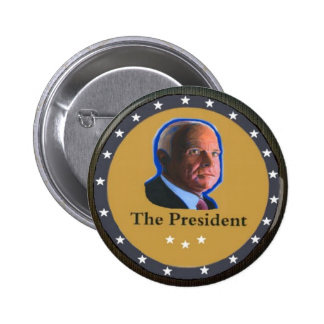 The President: John McCain 2 Inch Round Button