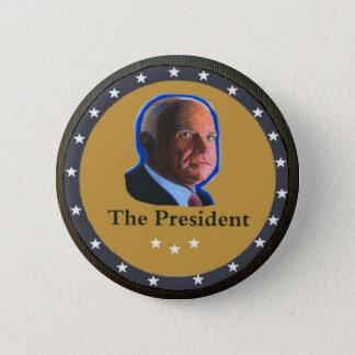 The President: John McCain Pinback Button