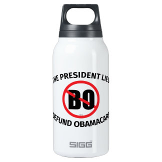The President Lied Thermos Bottle