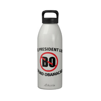 The President Lied Water Bottles
