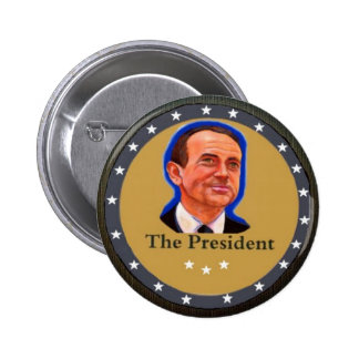 The President: Mike Huckabee Button