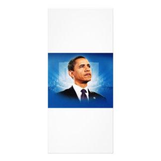 The President Obama Full Color Rack Card