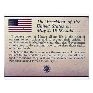 The President Of The United States On May 2 1943 Announcements
