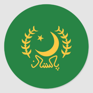 the President Pakistan, Pakistan Classic Round Sticker